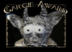 OFFICIAL GARGIE AWARD BUTTON