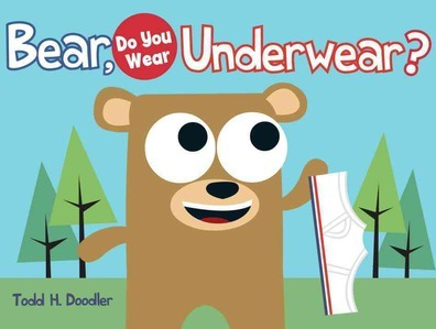 bear in underwear