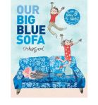 big blue sofa