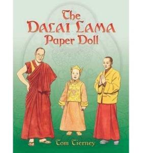 dalai lama paper dolls