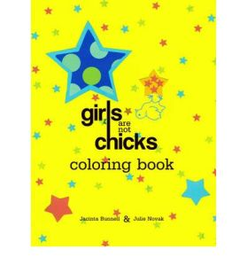 girls are not chicks colouring