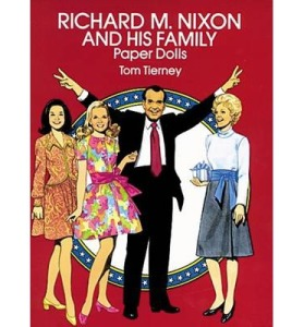 richard nixon paper dolls