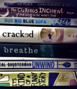 spine poetry one