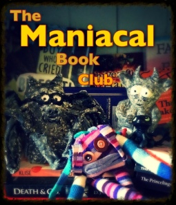 manical book club button