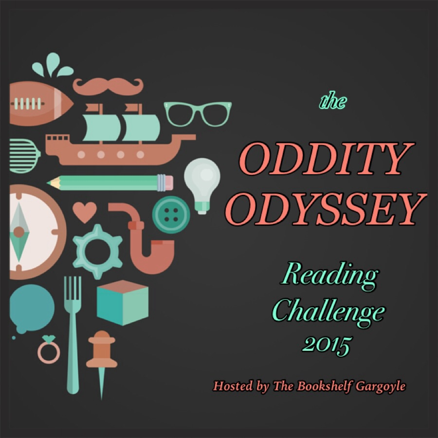 https://thebookshelfgargoyle.wordpress.com/oddity-odyssey-reading-challenge-2015/