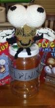 fly guy and jar
