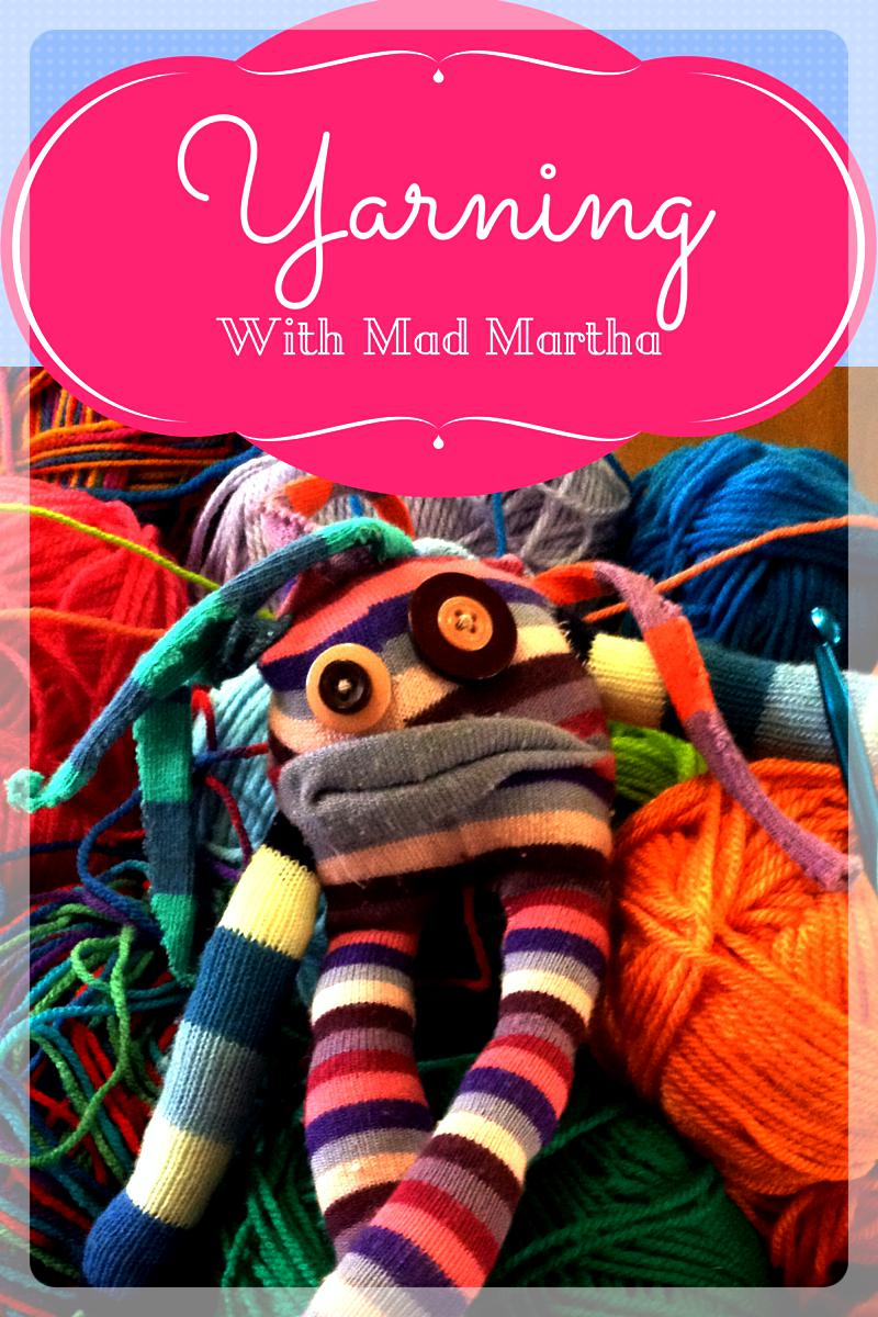 Yarning with Mad Martha about…Crochet Your Own Adventure (Let's Go Camping!)