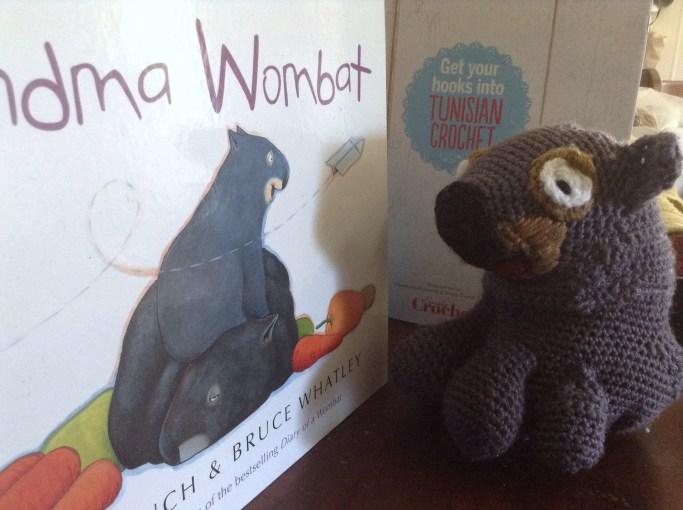 grandma wombat staring