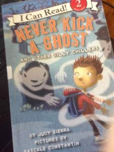 never kick a ghost