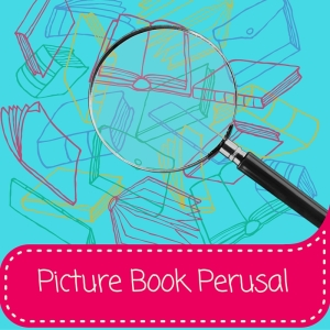 picture book perusal button